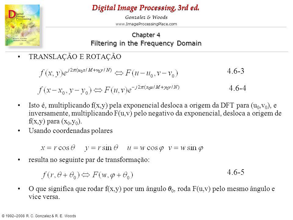 4.6-3 4.6-4 4.6-5 TRANSLAÇÃO E ROTAÇÃO