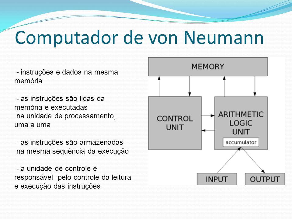 Computador de von Neumann