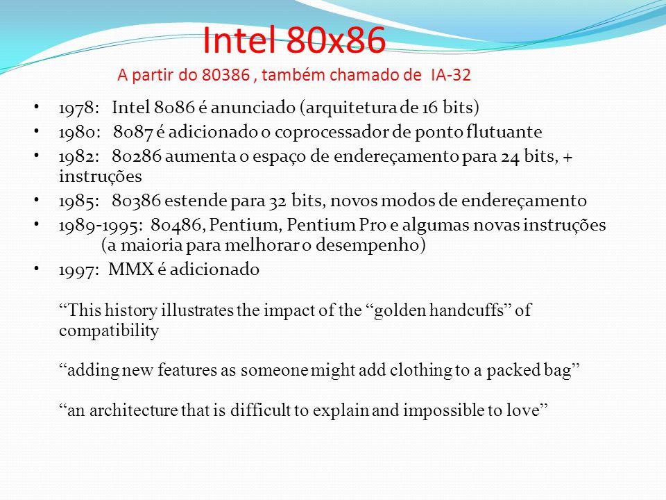 A partir do 80386 , também chamado de IA-32