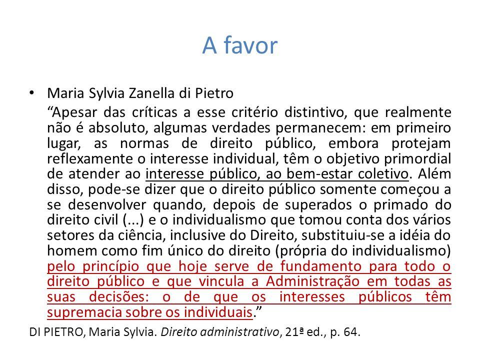 A favor Maria Sylvia Zanella di Pietro