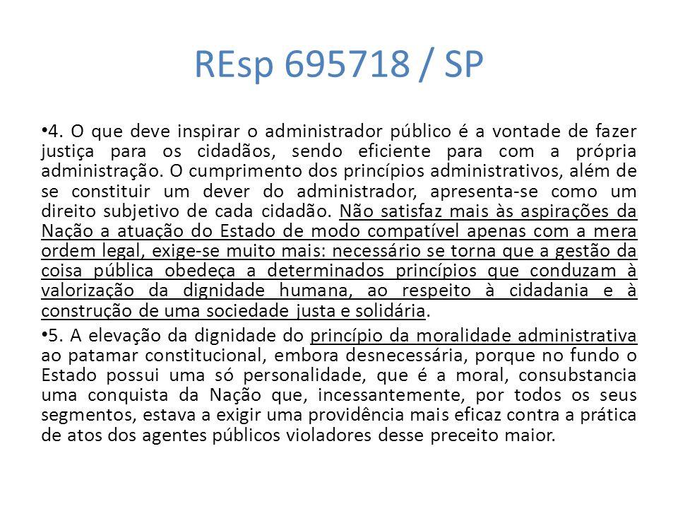 REsp 695718 / SP