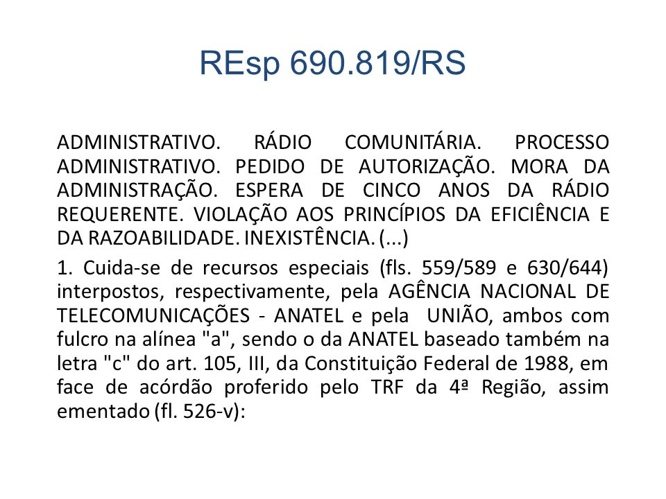 REsp 690.819/RS