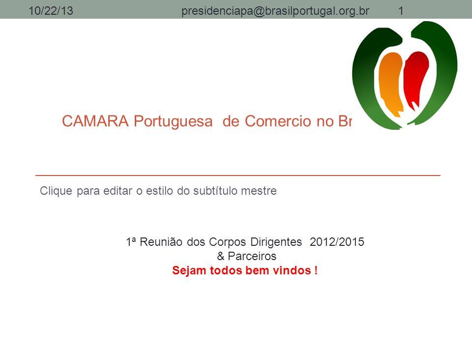 CAMARA Portuguesa de Comercio no Brasil/Pará