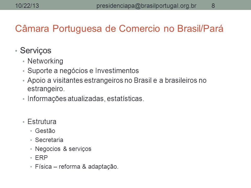 Câmara Portuguesa de Comercio no Brasil/Pará