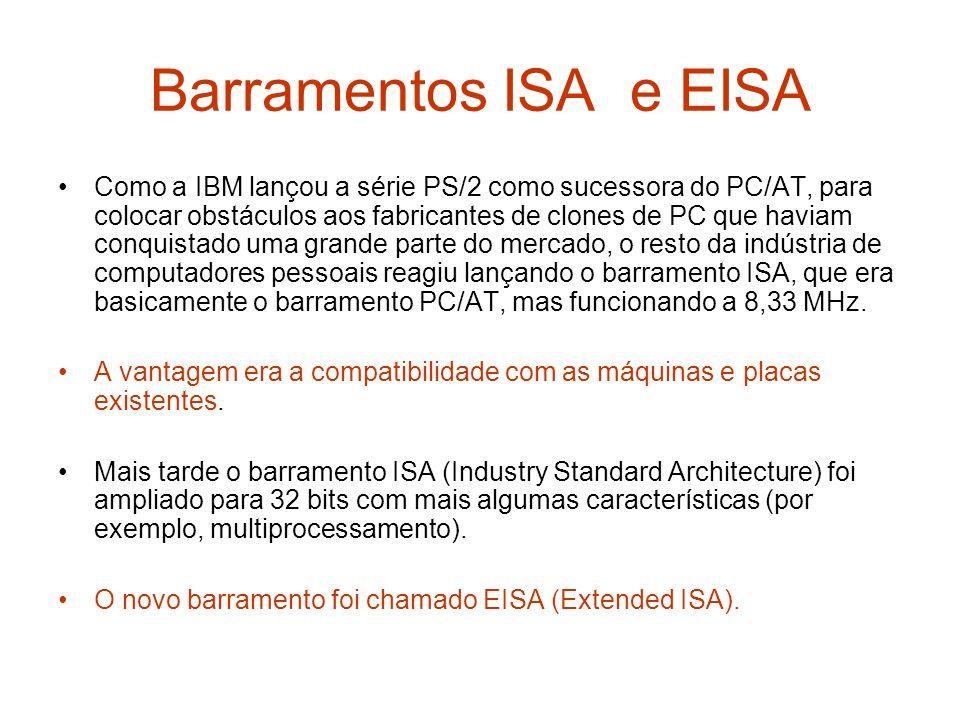Barramentos ISA e EISA