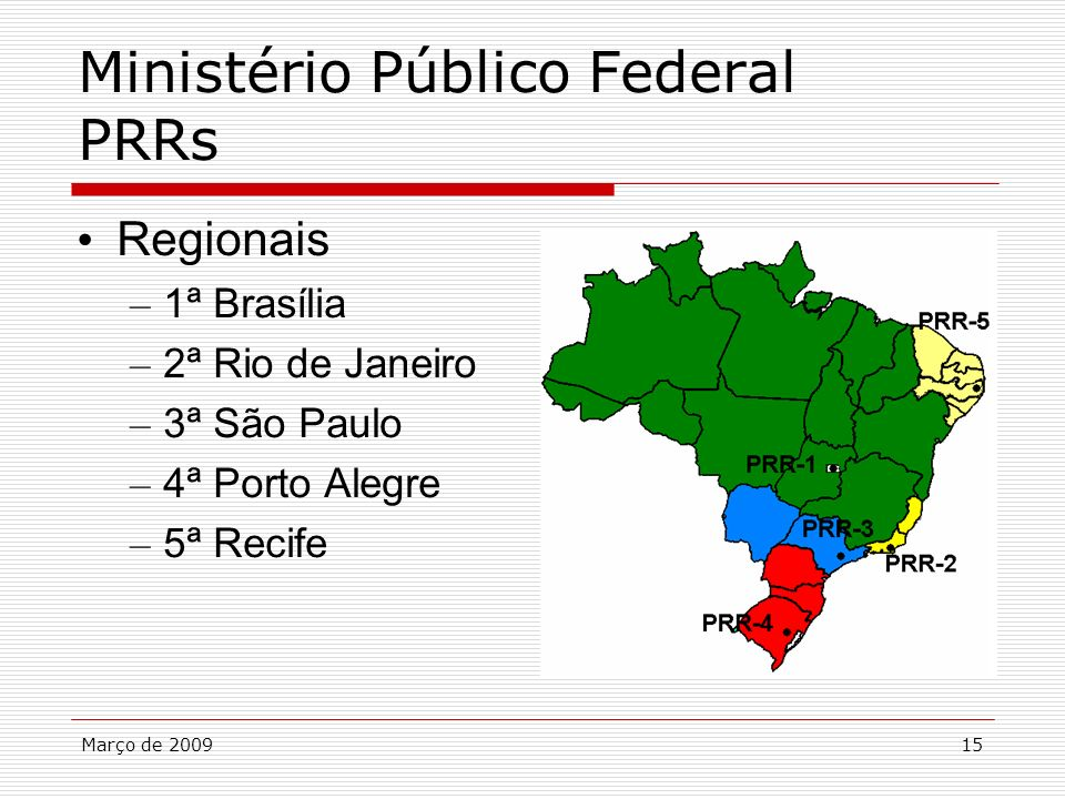 Ministério Público Federal PRRs