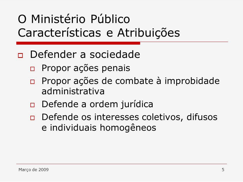 O Ministério Público Características e Atribuições