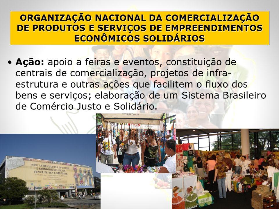 ORGANIZAÇÃO NACIONAL DA COMERCIALIZAÇÃO DE PRODUTOS E SERVIÇOS DE EMPREENDIMENTOS ECONÔMICOS SOLIDÁRIOS