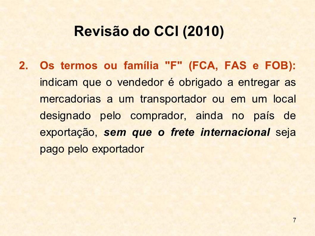 Revisão do CCI (2010)