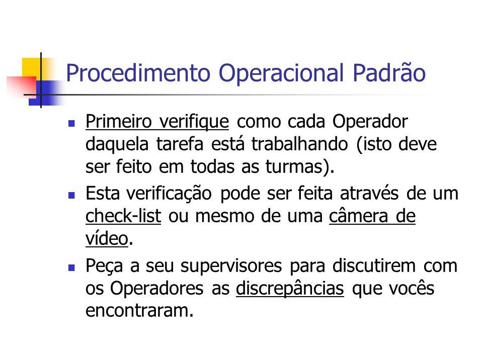 Procedimento Operacional Padrão