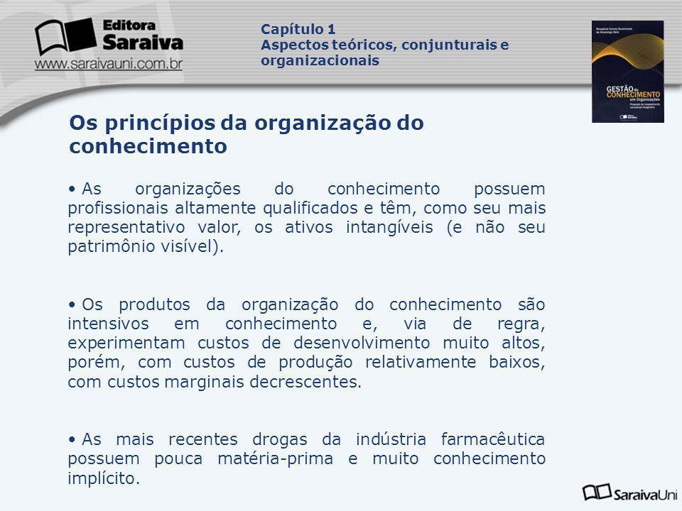 Os princípios da organização do conhecimento