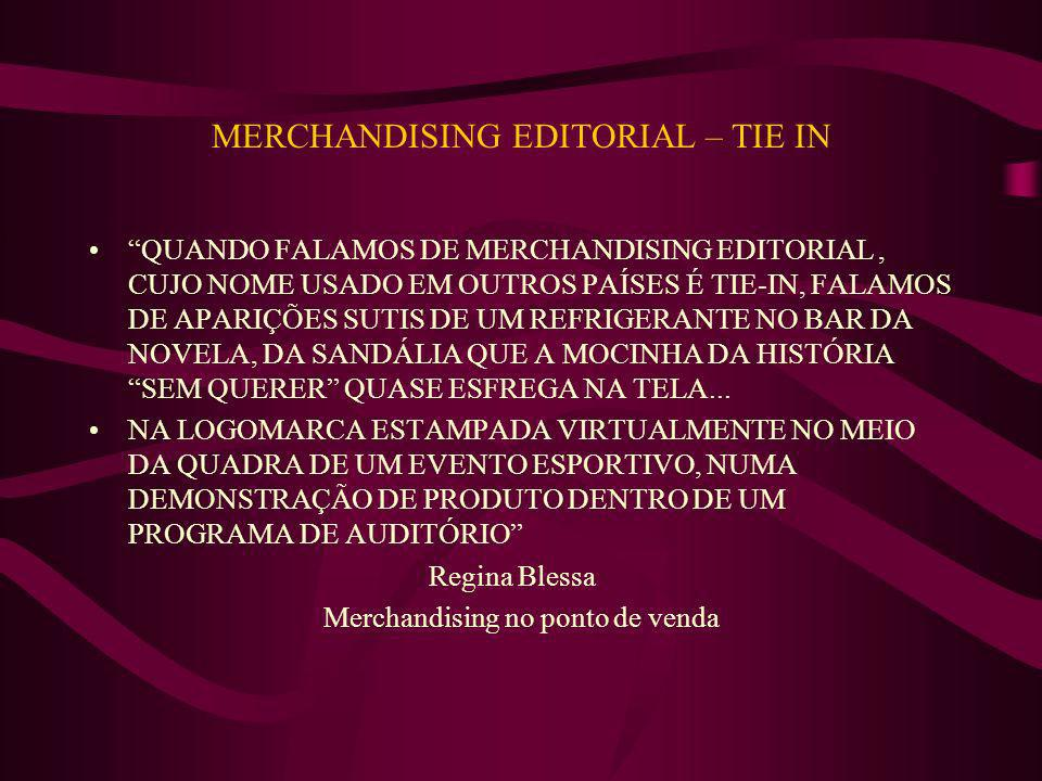 MERCHANDISING EDITORIAL – TIE IN
