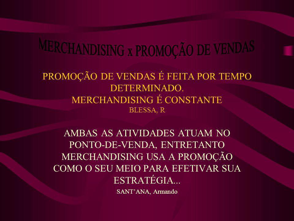 MERCHANDISING x PROMOÇÃO DE VENDAS