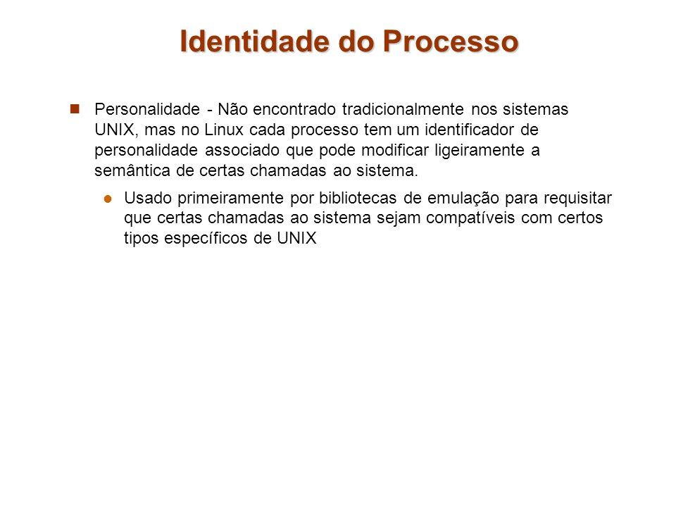 Identidade do Processo