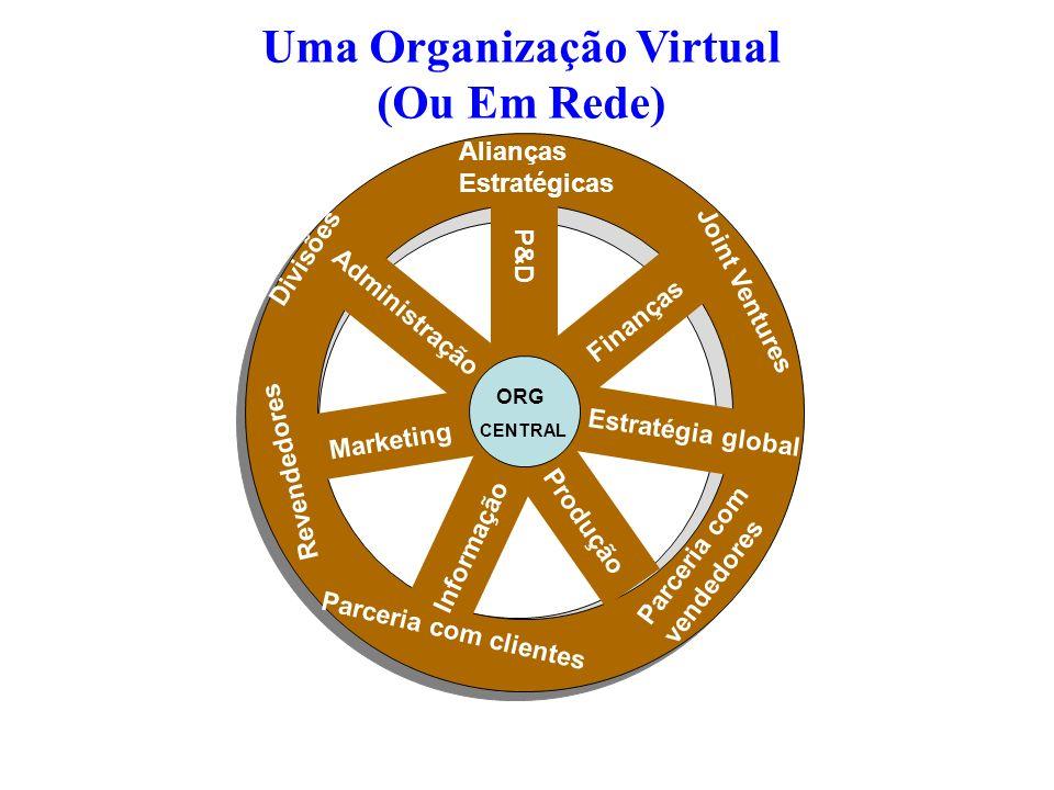 Uma Organização Virtual