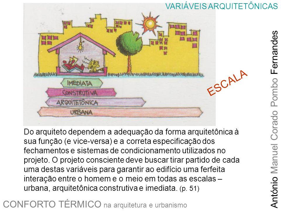 ESCALA António Manuel Corado Pombo Fernandes