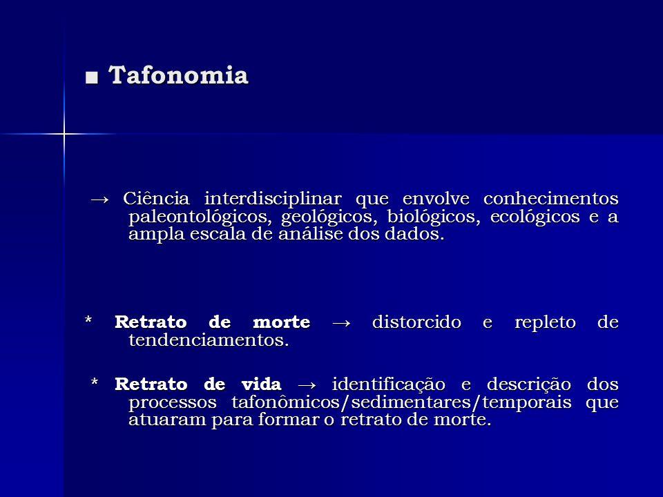 ■ Tafonomia