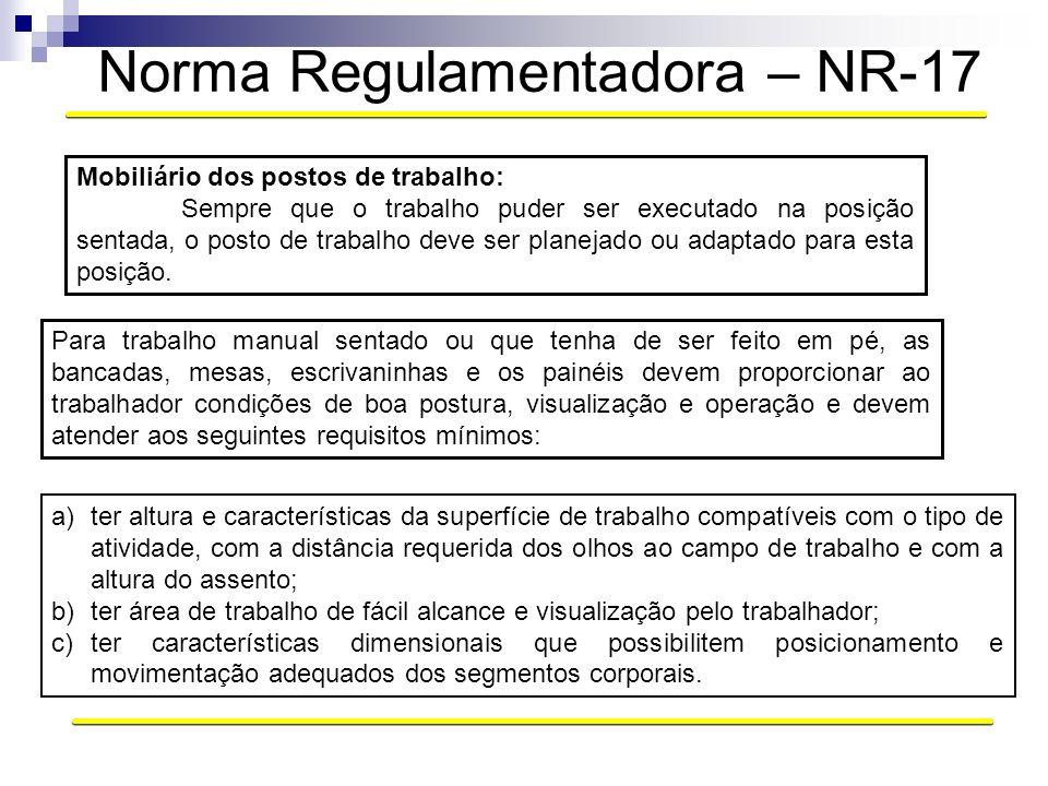 Norma Regulamentadora – NR-17