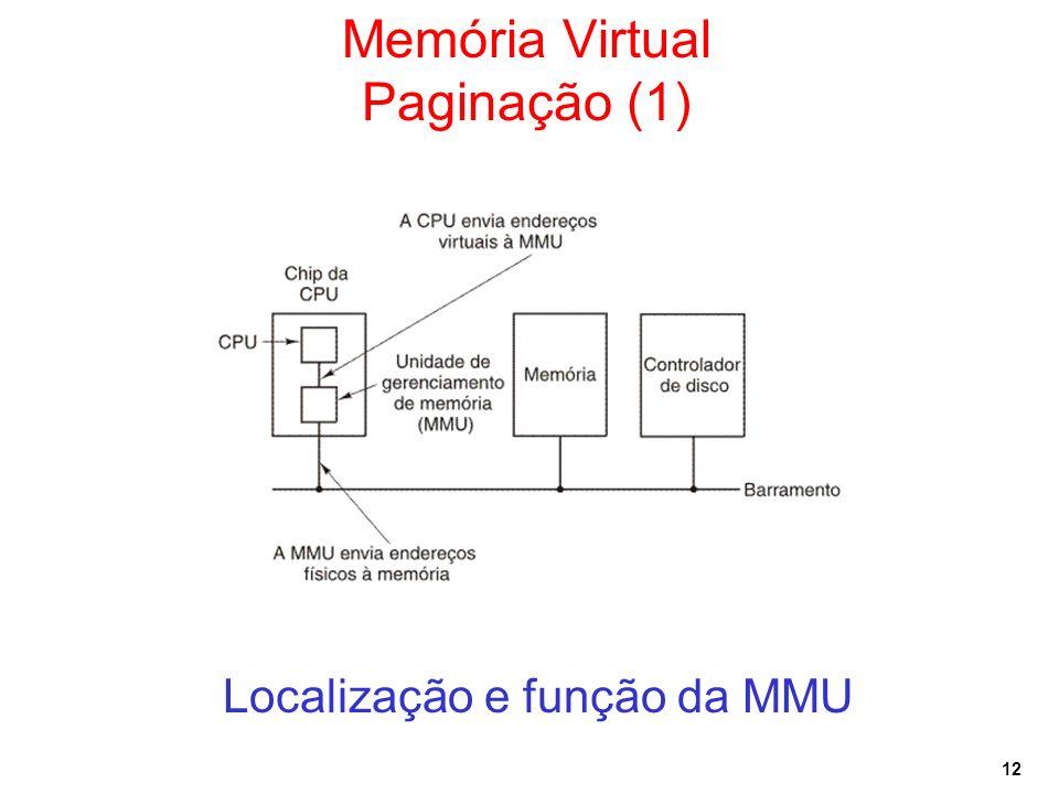 Memória Virtual Paginação (1)