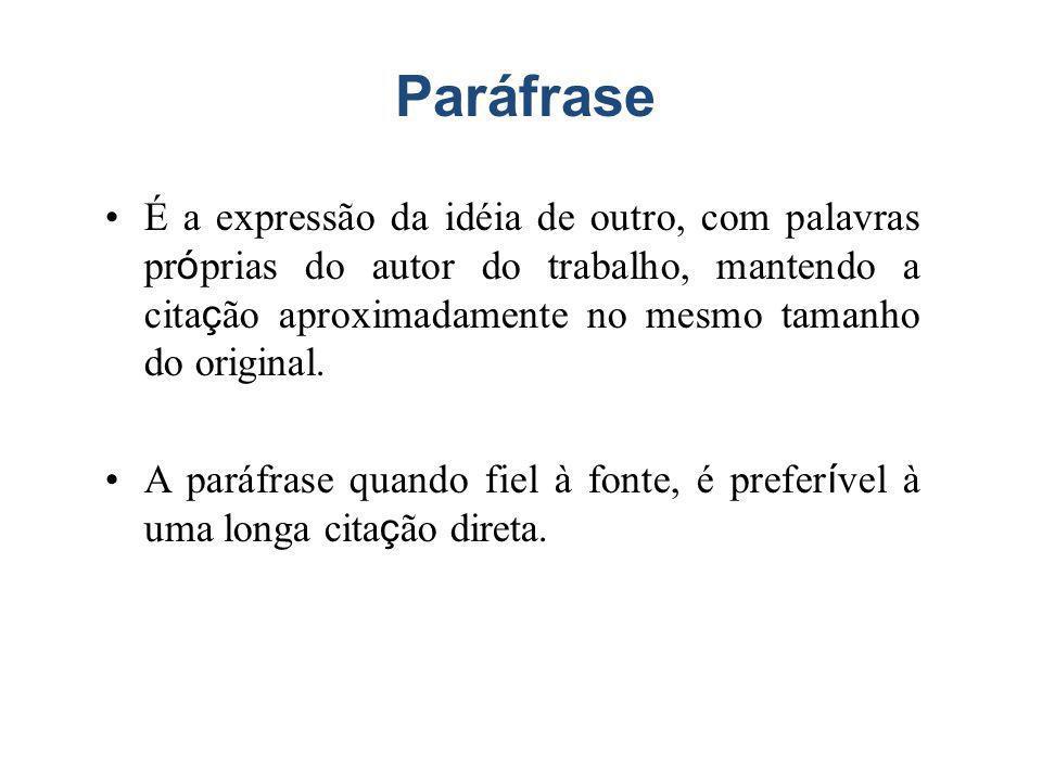 Paráfrase