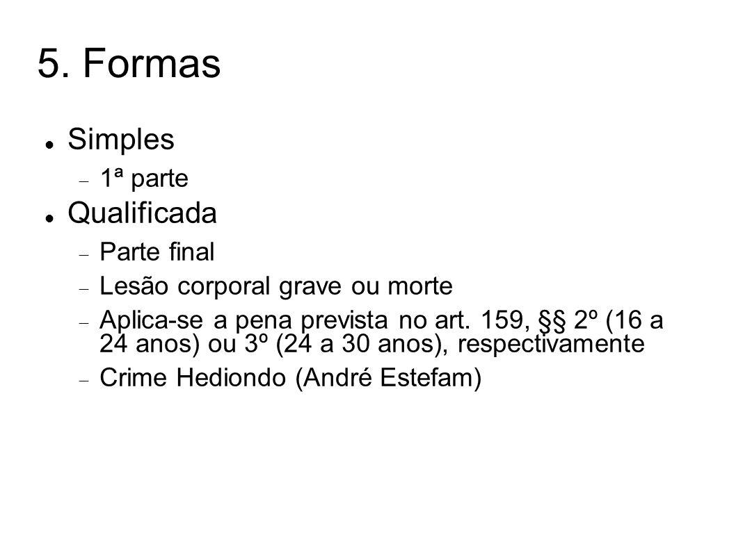 5. Formas Simples Qualificada 1ª parte Parte final