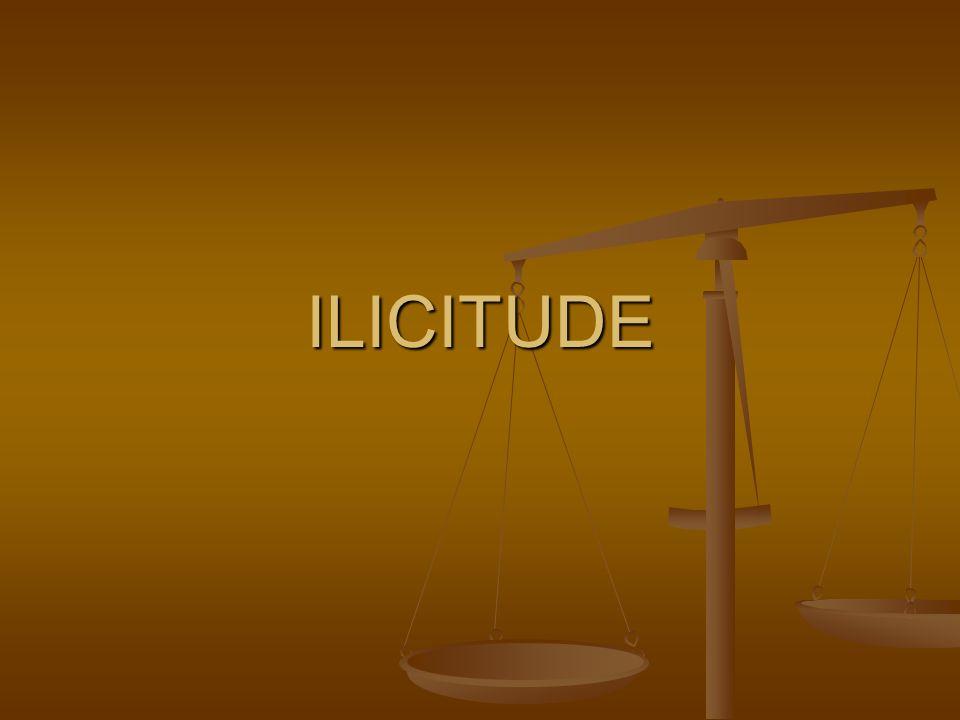 ILICITUDE