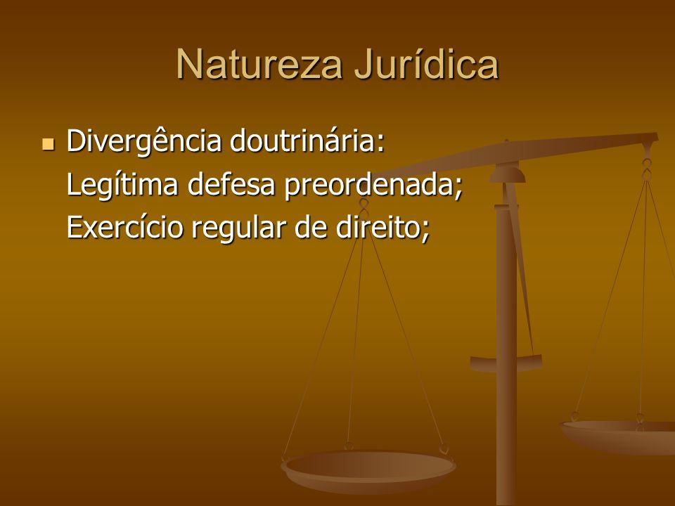 Natureza Jurídica Divergência doutrinária: