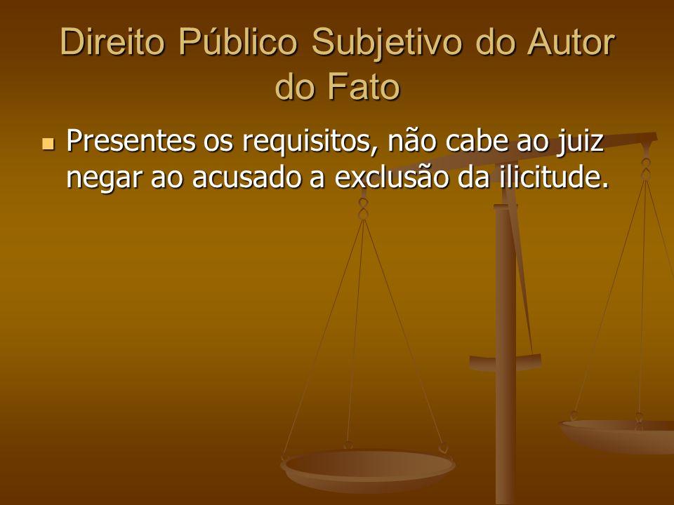Direito Público Subjetivo do Autor do Fato