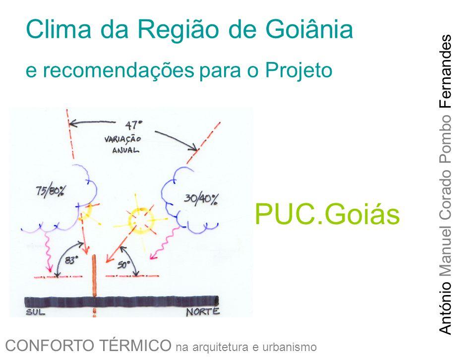 PUC.Goiás Clima da Região de Goiânia e recomendações para o Projeto