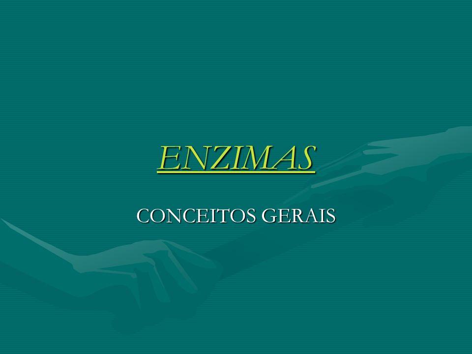 ENZIMAS CONCEITOS GERAIS
