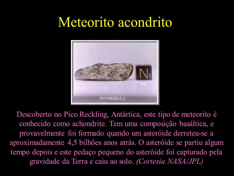Meteorito acondrito