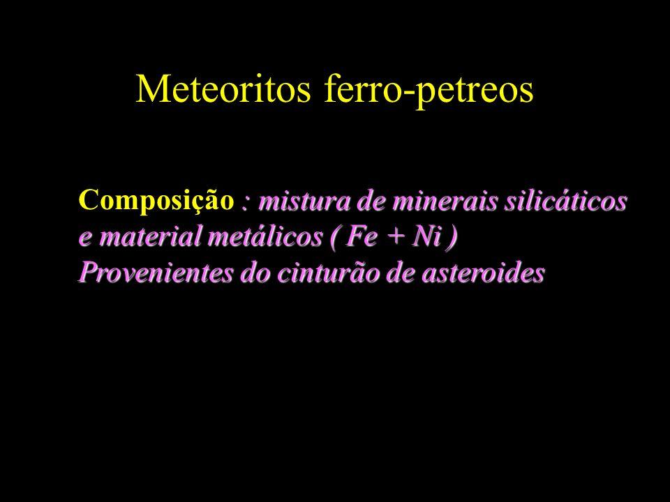 Meteoritos ferro-petreos