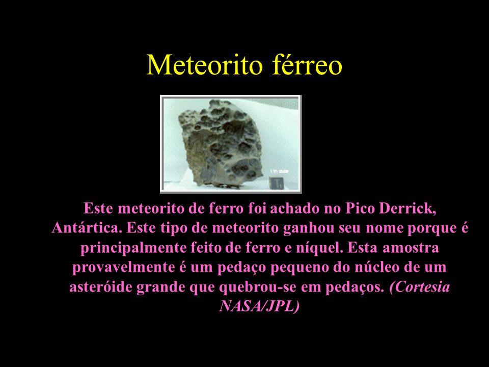 Meteorito férreo