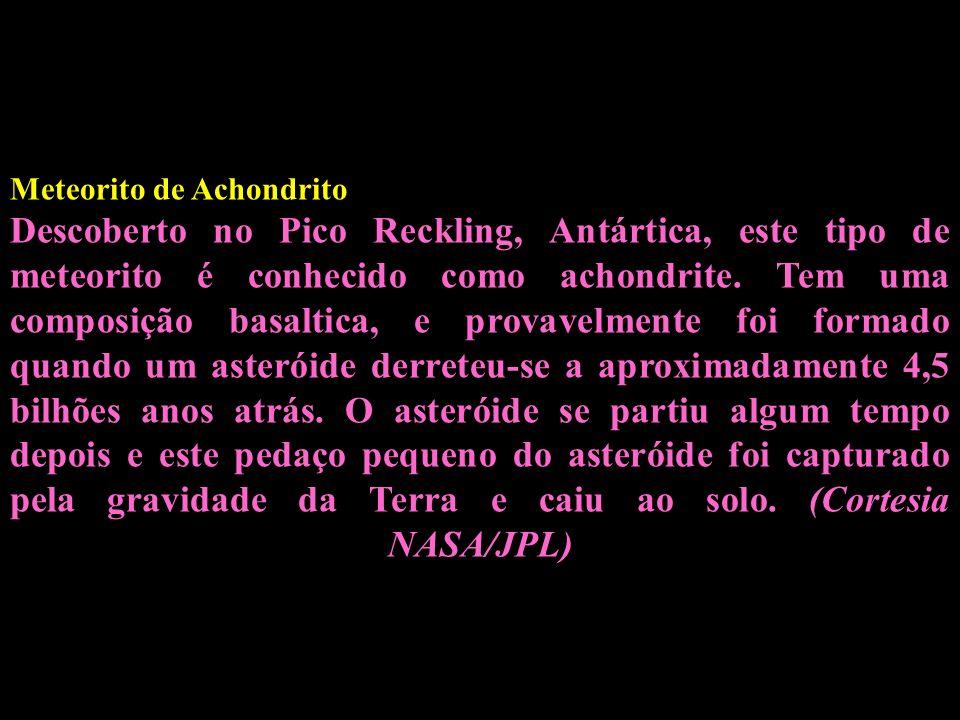 Meteorito de Achondrito