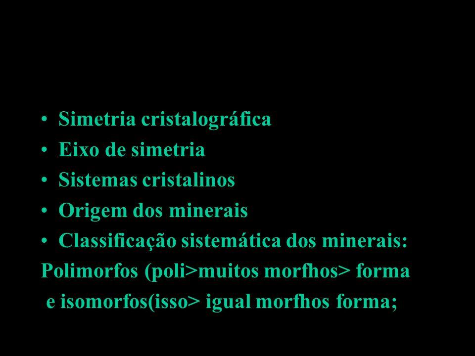 Simetria cristalográfica