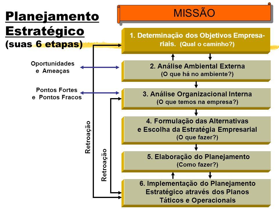 Planejamento Estratégico (suas 6 etapas)