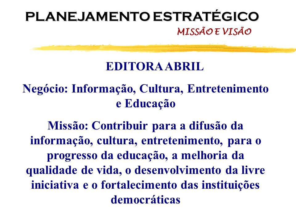 Negócio: Informação, Cultura, Entretenimento e Educação