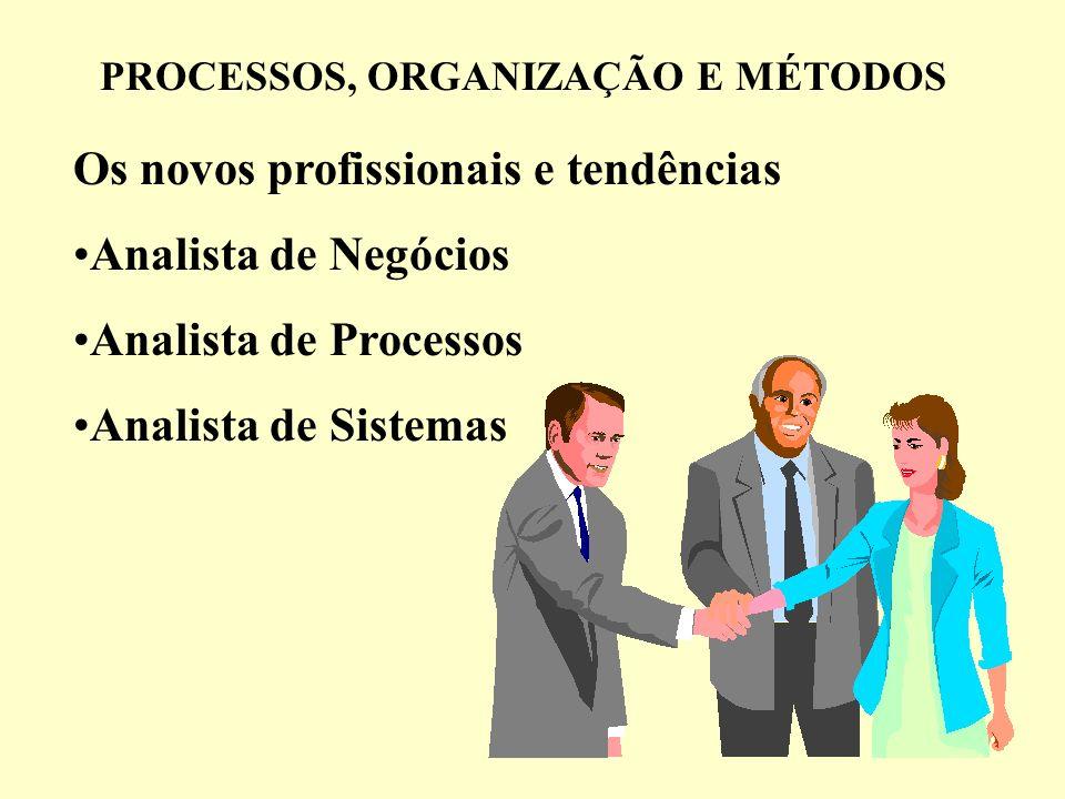 PROCESSOS, ORGANIZAÇÃO E MÉTODOS