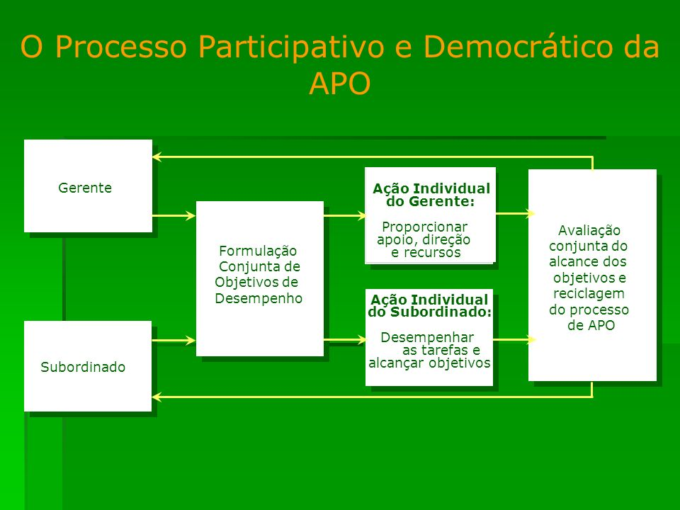 O Processo Participativo e Democrático da APO