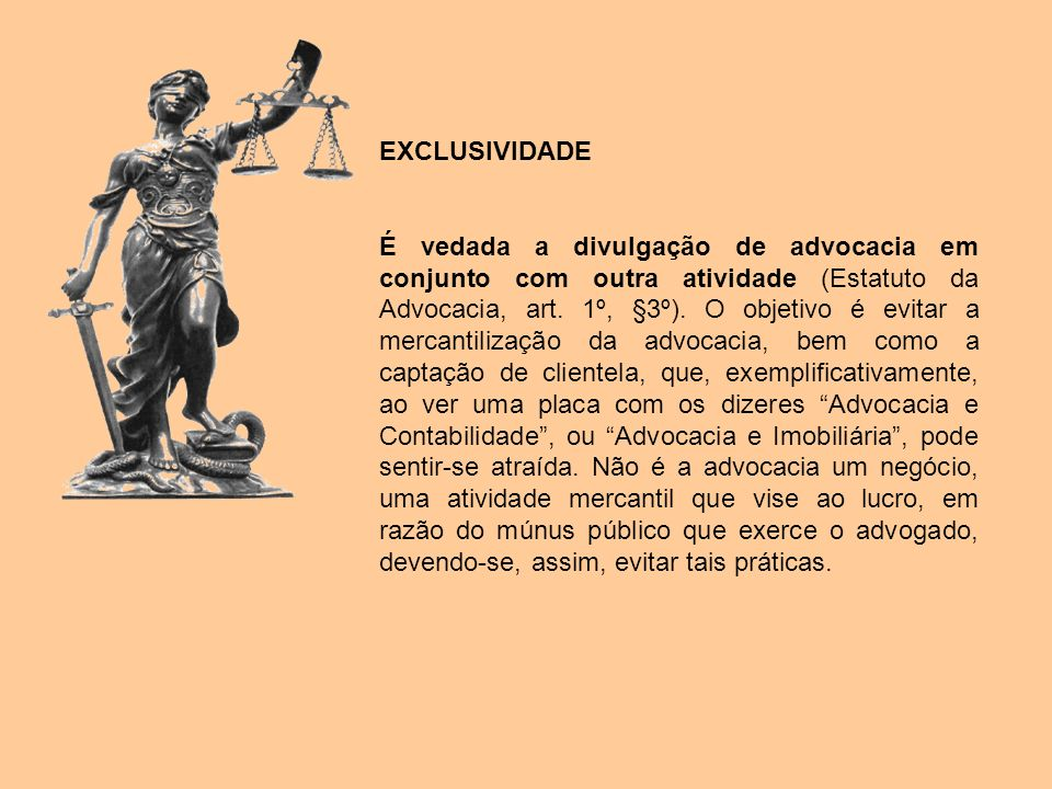 EXCLUSIVIDADE