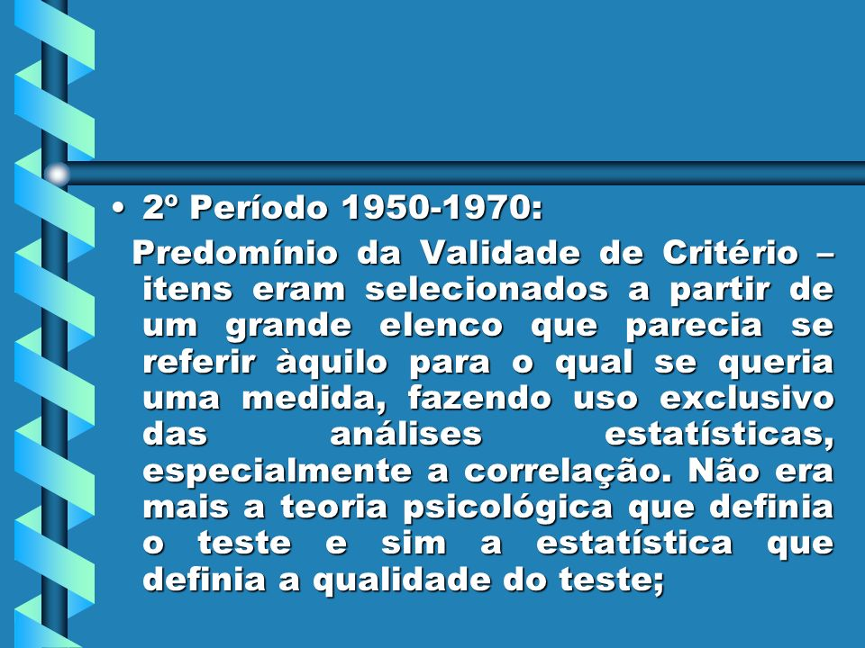2º Período 1950-1970: