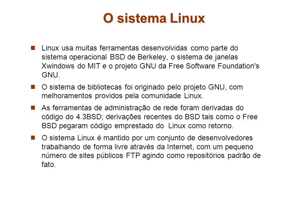 O sistema Linux