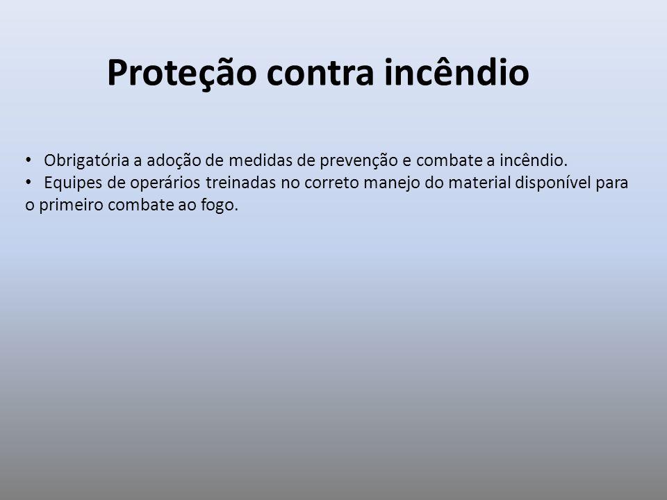 Proteção contra incêndio