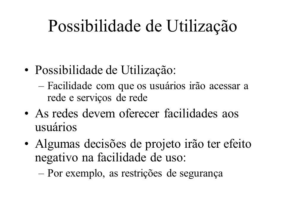 Possibilidade de Utilização