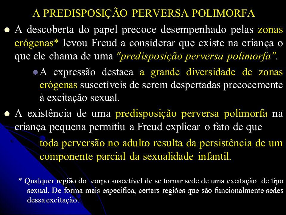 A PREDISPOSIÇÃO PERVERSA POLIMORFA