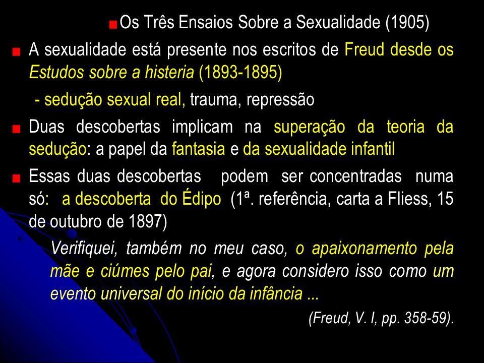 Os Três Ensaios Sobre a Sexualidade (1905)