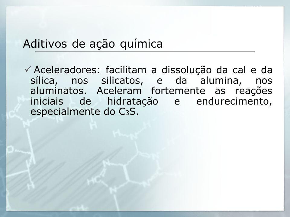 Aditivos de ação química