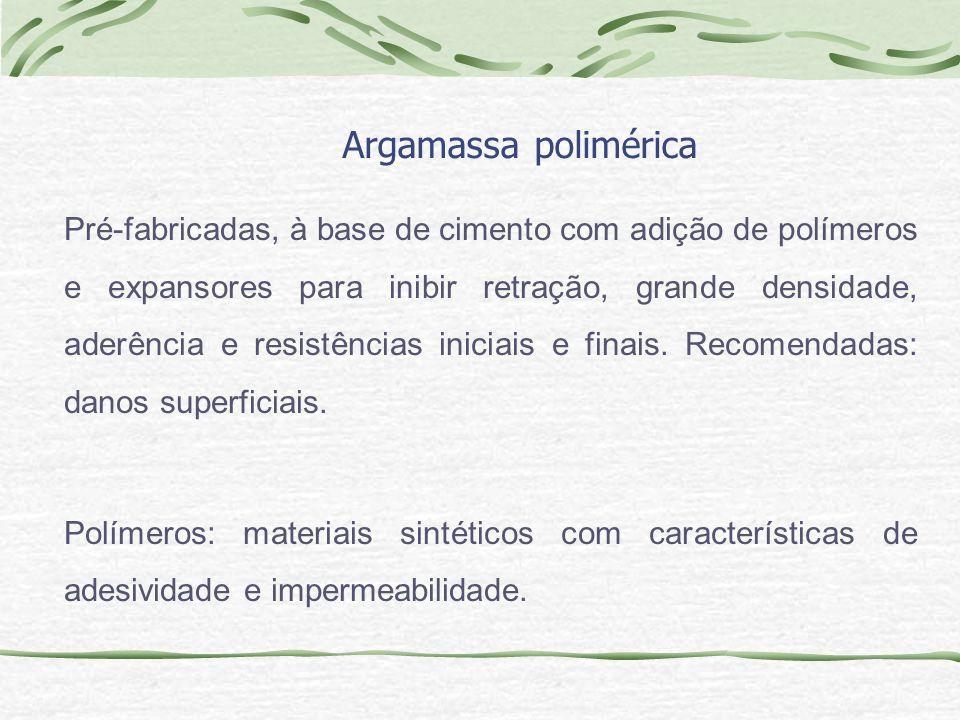 Argamassa polimérica