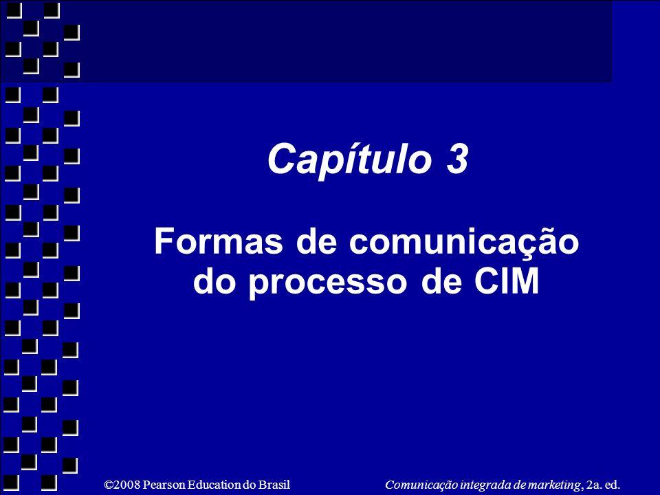 Capítulo 3 Formas de comunicação do processo de CIM
