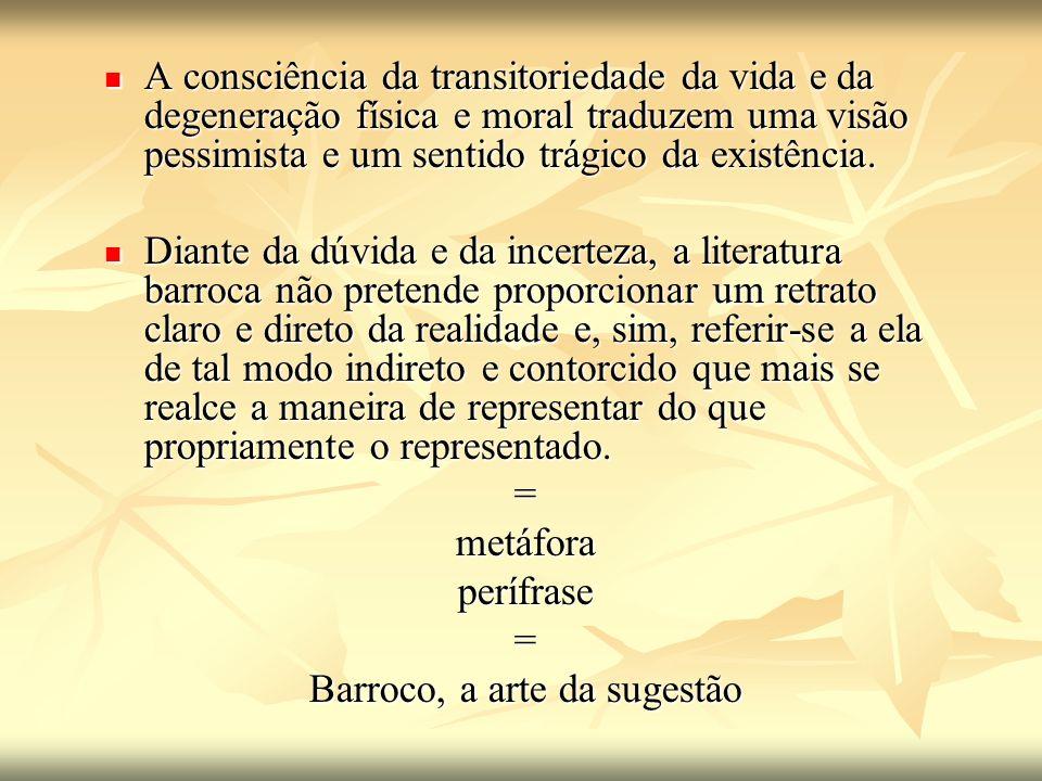 Barroco, a arte da sugestão